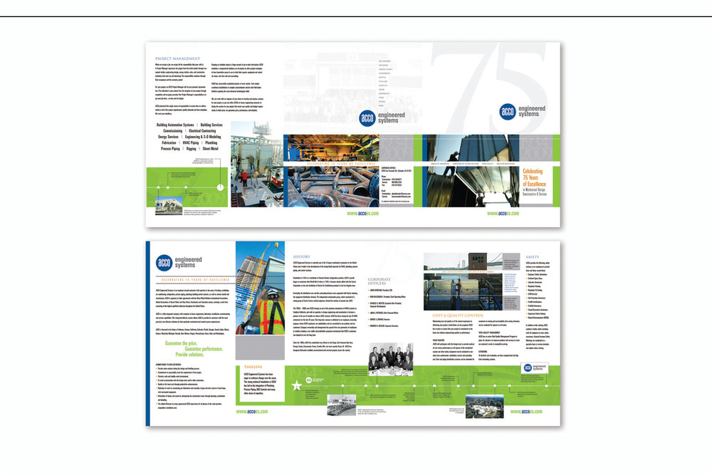 75th Anniversary Capabilities Brochure,   ACCO Engineered Systems