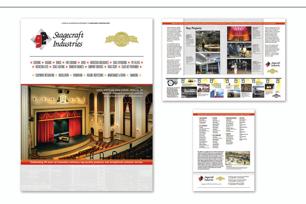 Capabilities Brochure and Special Advertising Supplement,   40th Anniversary Promotion
