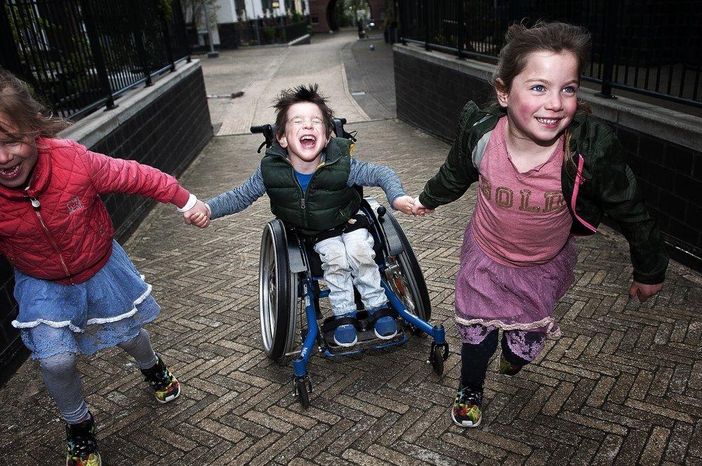 """""""Kjelt"""", Nederlandse Stichting Gehandicapte Kind (NSGK), Foto: Susanne Reuling"""