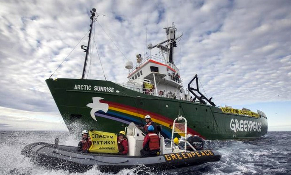 Arctic Sunrise, Greenpeace