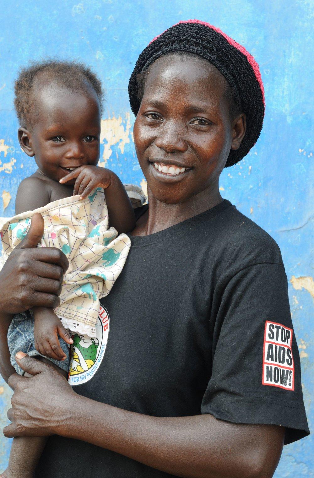 STOP AIDS NOW! in Uganda, Aidsfonds, Foto: Adriaan Backer