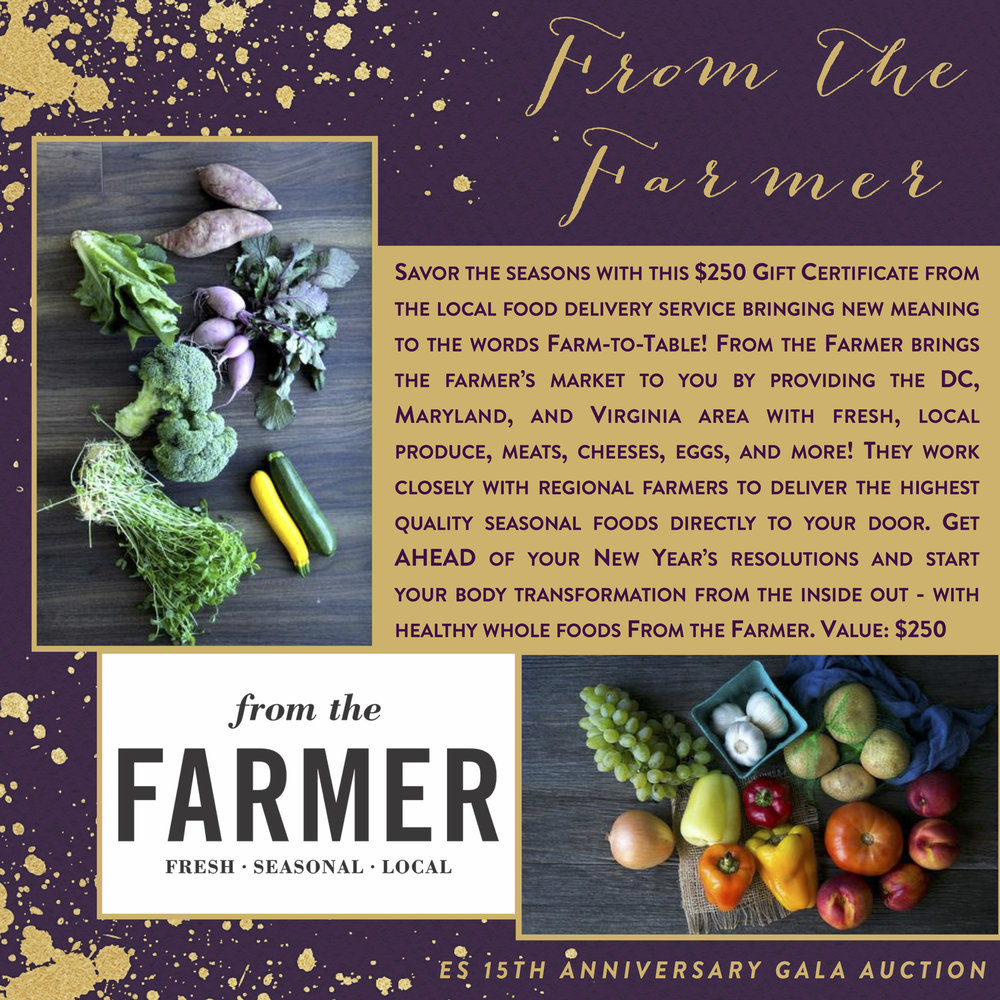ES 15th Anniversary Gala-Auction Items-From The Farmer.jpg