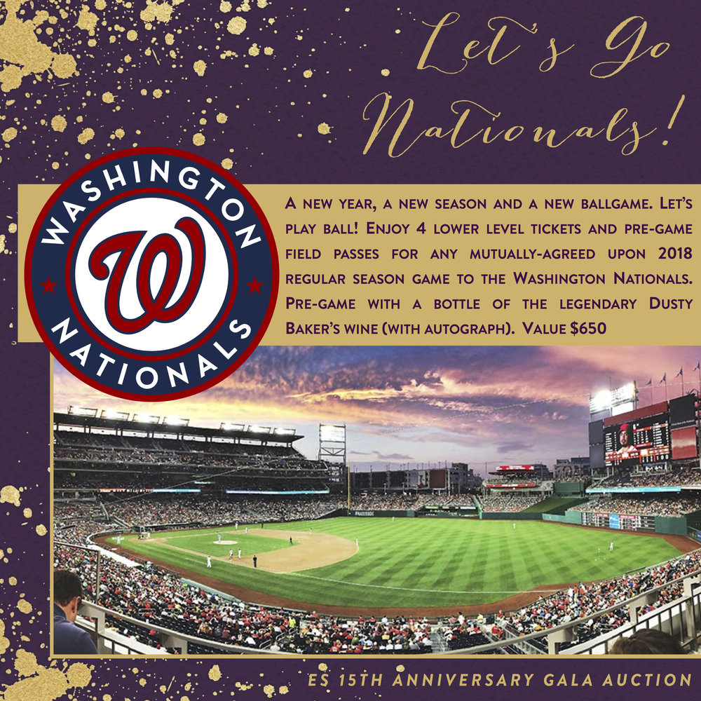 ES 15th Anniversary Gala-Auction Items-Let'sGoNats!.jpg