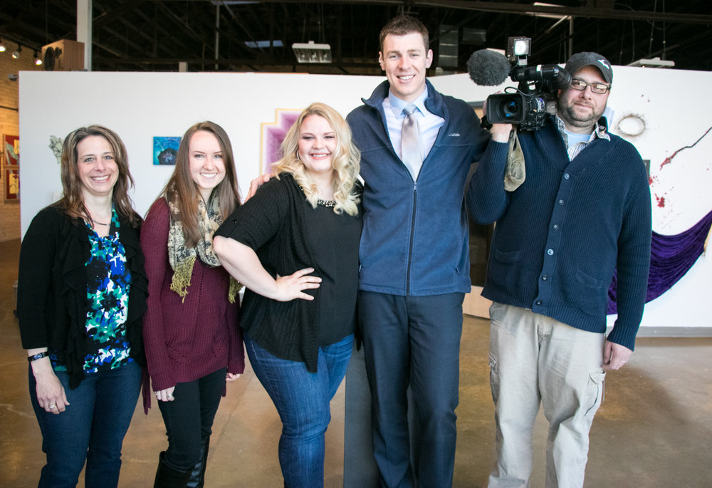Did you miss us on the news? Click on the image here to see the segment from March 22nd!