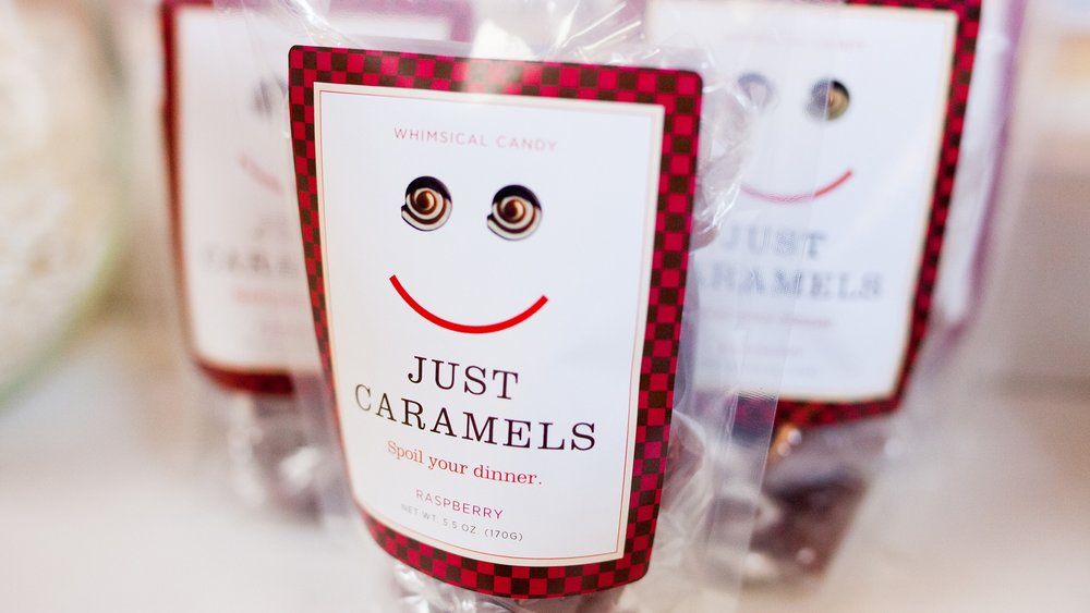 Just Caramels Packaging