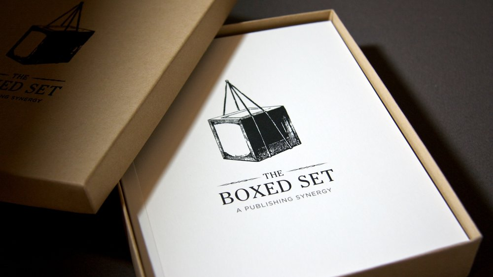 The Boxed Set Promotional Packaging
