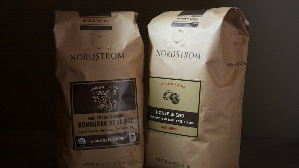 Nordstrom Core Coffee Line Packaging
