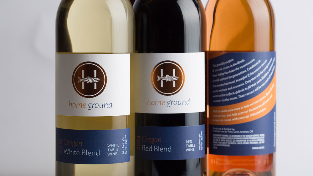 Homeground Wine Packaging
