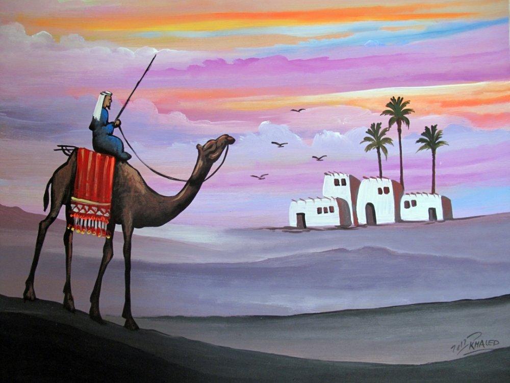 Dahab_Coachhouse_Egypt_Diving_Red_Sea_Paint_camel.JPG