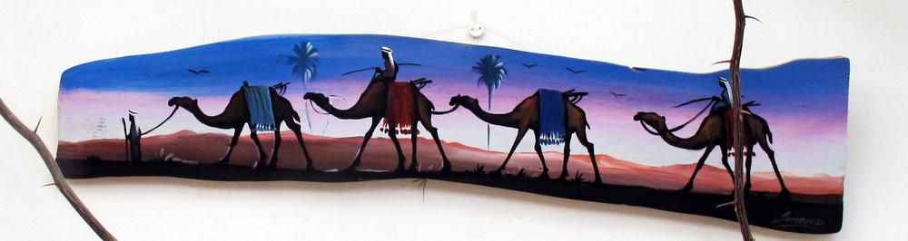 Dahab_Coachhouse_Egypt_Diving_Red_Sea_Paint_camels.JPG