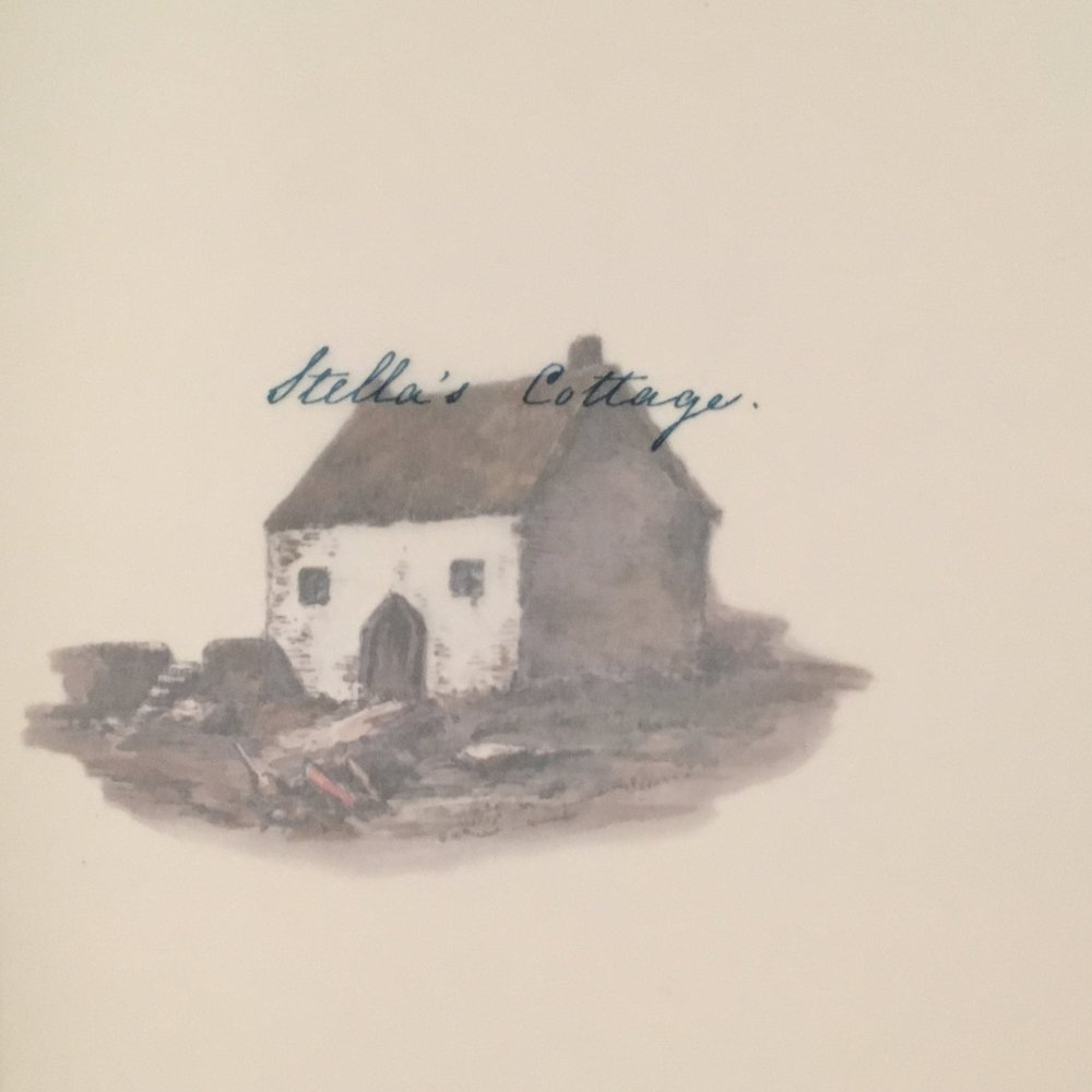 Pictured: Stella's Cottage, from   Views of the Haunts and Homes of the British Poets   (Un-Gyve Press)