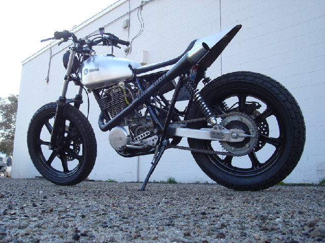 YAMAHA SR500 STREET TRACKER BY TODD APPLE