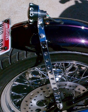 FENDER STRUT AND TAIL LIGHT MOUNT BY TODD APPLE