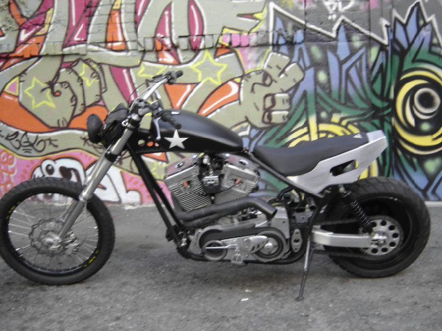 FXR DIRT BIKE CHOPPER -TODD APPLE