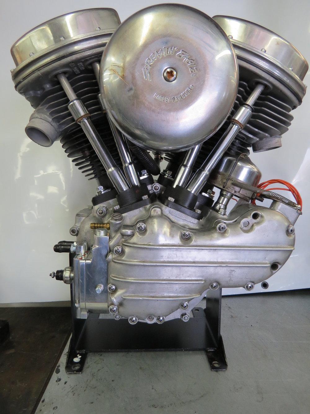 1957 HARLEY PANHEAD MOTOR REBUILT BY TODD APPLE