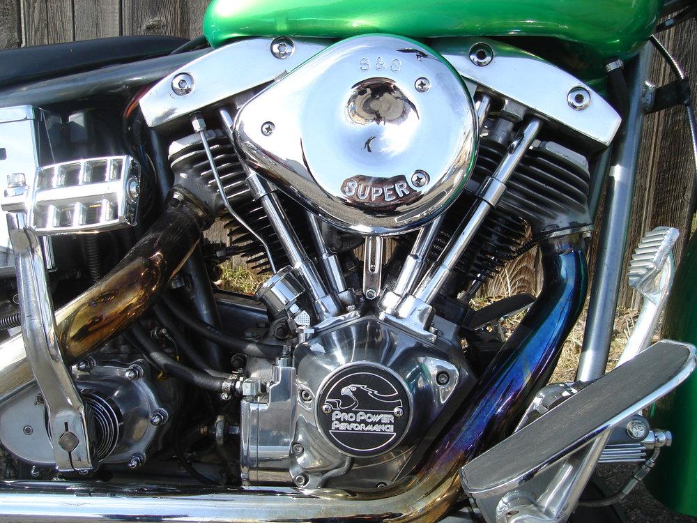 ANOTHER SHOVELHEAD MOTOR REBUILT BY TODD APPLE