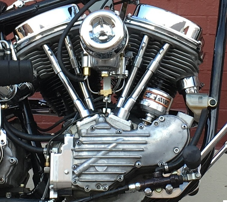HARLEY 1951 PANHEAD MOTOR BY TODD APPLE