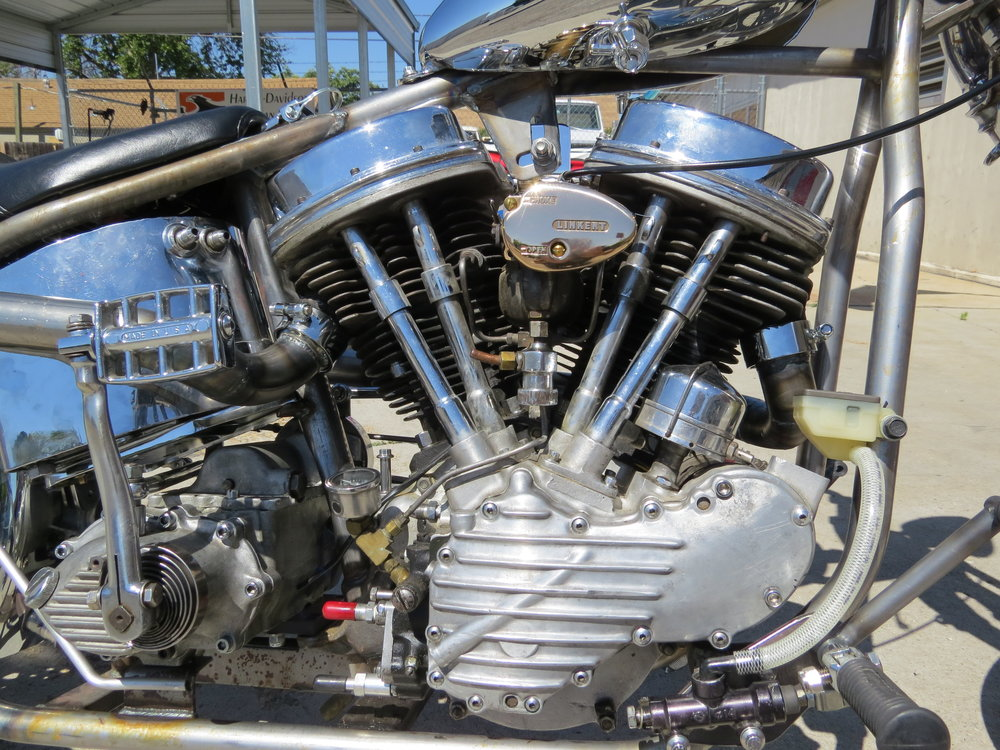 1950 PANHEAD MOTOR BY TODD APPLE