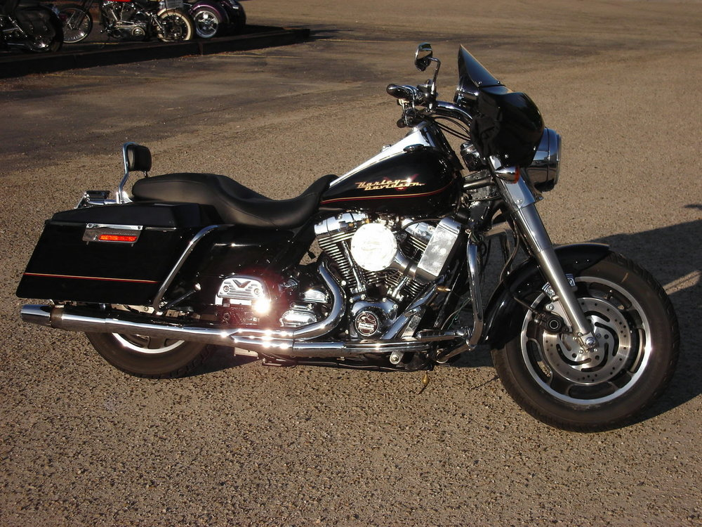 1999 HARLEY DAVIDSON FLHR WITH SUPER CHARGER