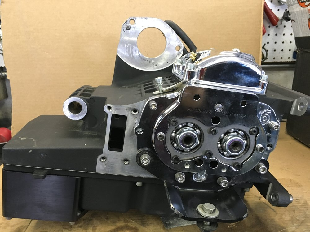 UPGRADED BAKER 6 SPEED TRANSMISSION