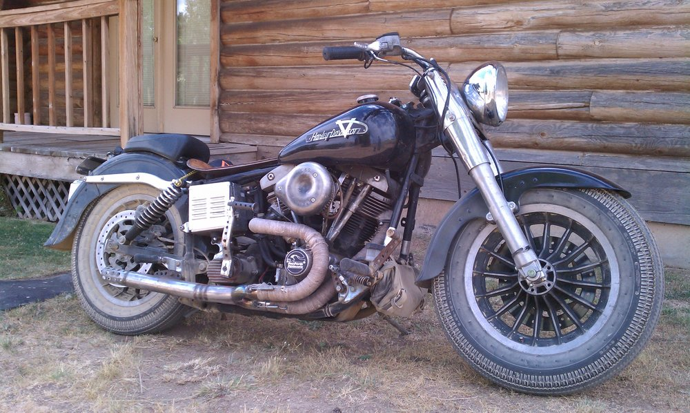 Todd's 1979 Harley FLH