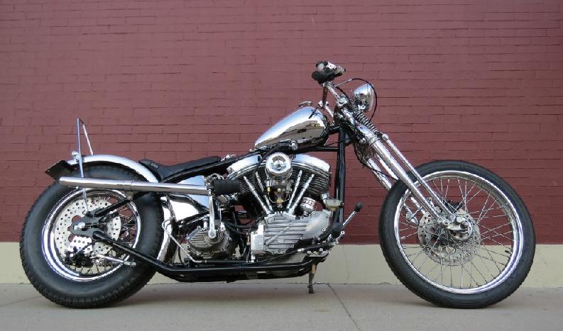 Todd's 1951 Harley Chopper (Panhead)