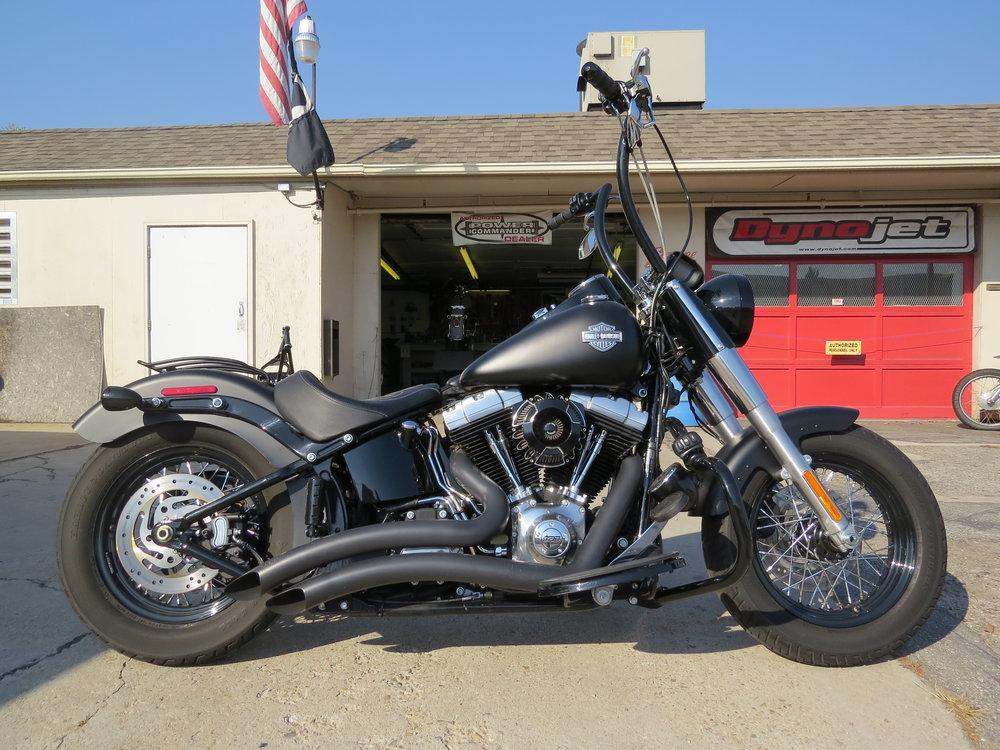 TJ's 2013 Harley Softail