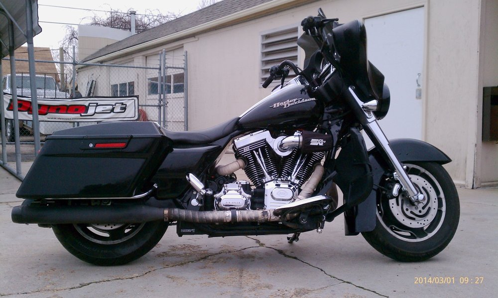 MIKE'S 2007 HARLEY STREET GLIDE WITH SS 111 MOTOR AND BAKER 7 SPEED TRANSMISSION
