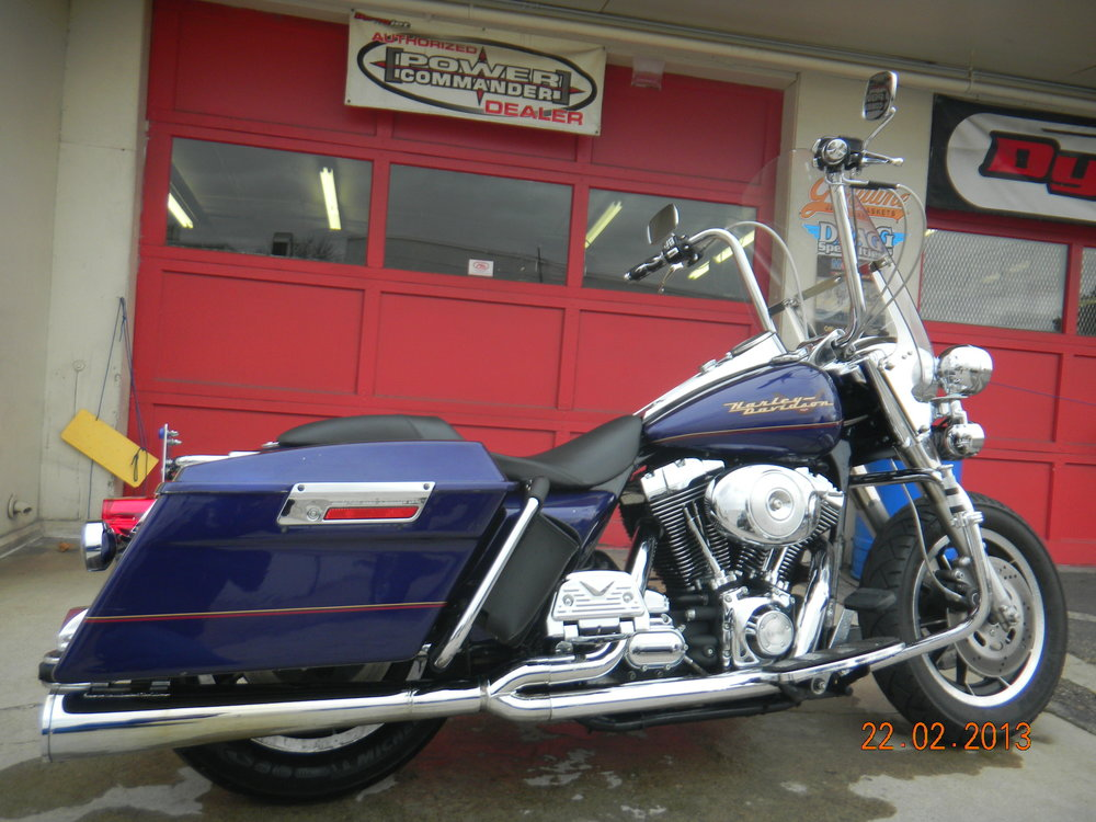JOHN'S 1999 HARLEY ROAD KING