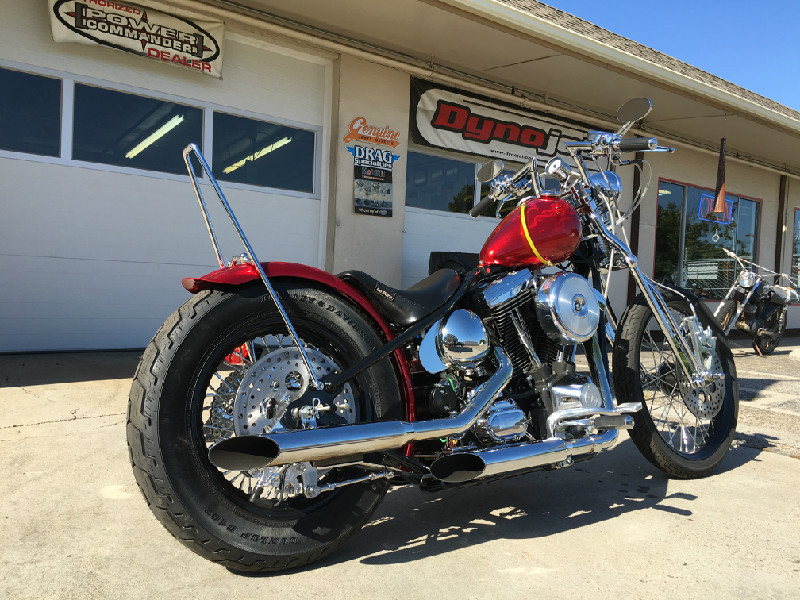 HARLEY EVO CHOPPER - TODD APPLE