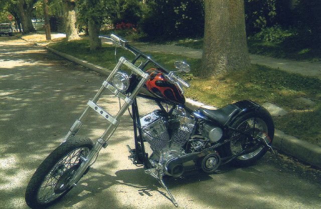 CUSTOM RIGID CHOPPER WITH SS 96 MOTOR