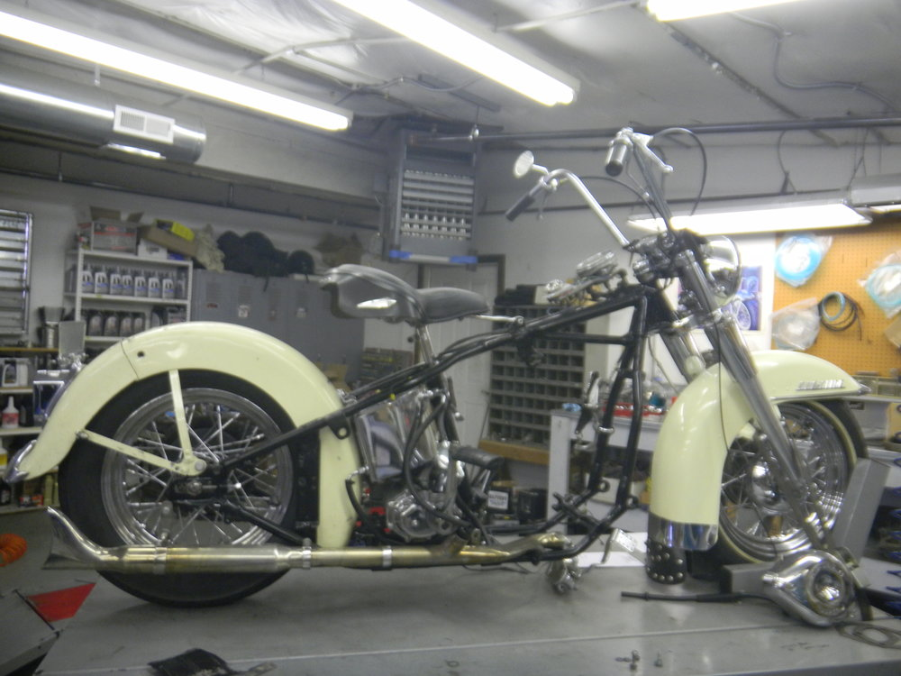1951 HARLEY PANHEAD RESTORATION...WHAT WE STARTED WITH