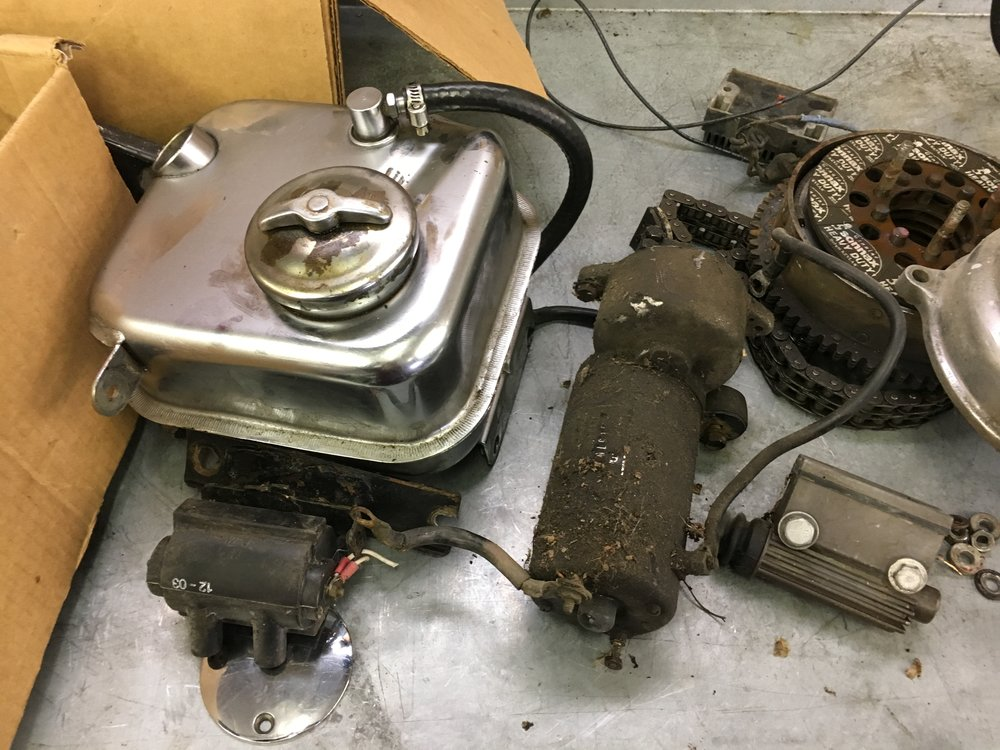 PARTS TO TRY TO USE FOR RESTORATION