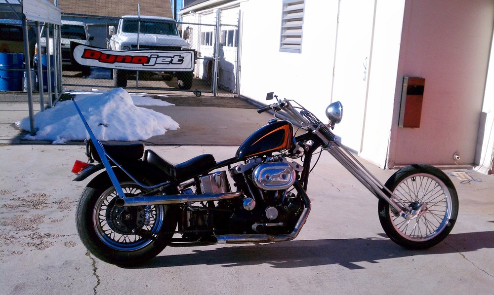 MIKE'S 1975 HARLEY IRONHEAD