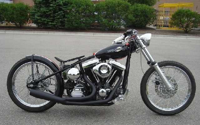 HARLEY EVOLUTION BICYCLE BOBBER