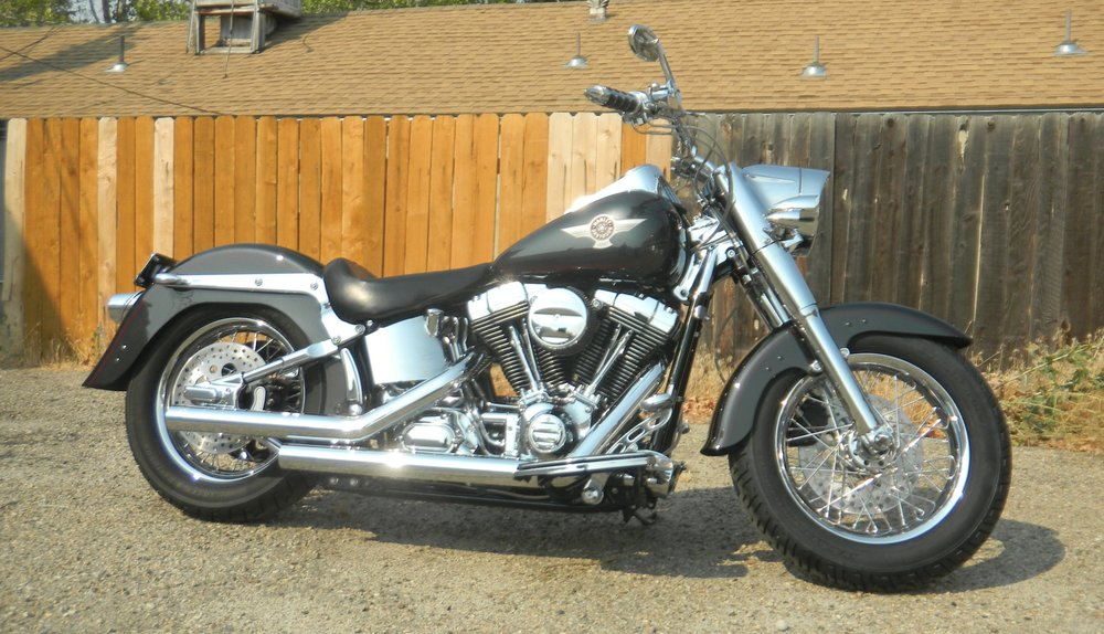 AFTER RESTORATION:  2006 HARLEY SOFTAIL RESTORATION PROJECT