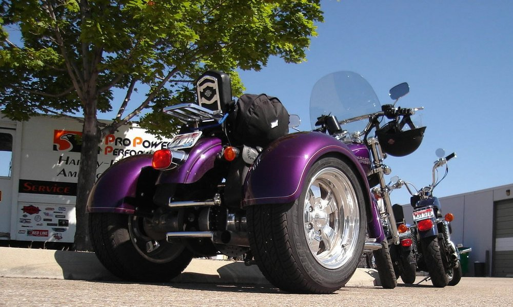 HARLEY DYNA TRIKE CONVERSION