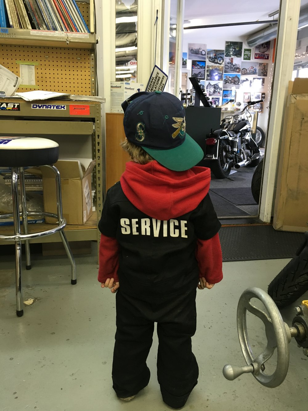 NEXT GENERATION GREASE MONKEY!