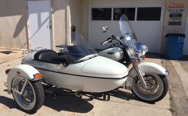 Steve's 2002 Harley Road King with Sidecar