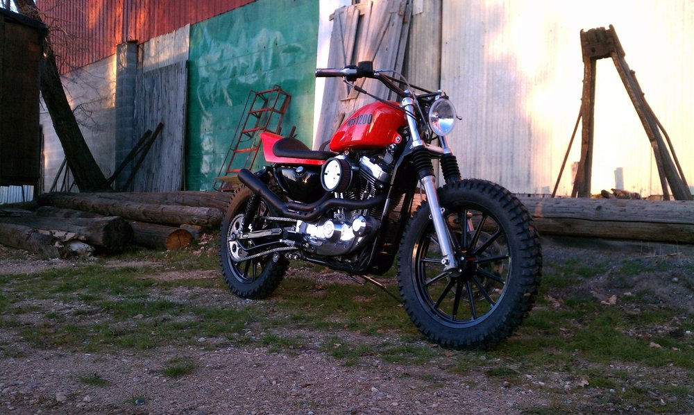 Harley Street Tracker by Todd Apple