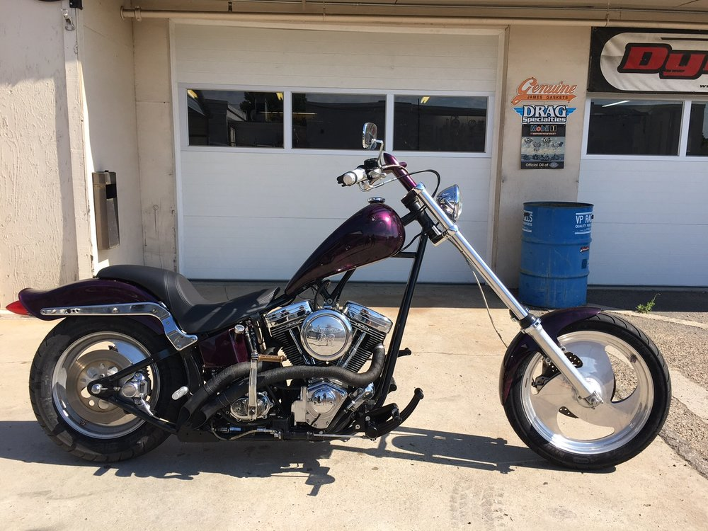 Wade's Custom Chopper