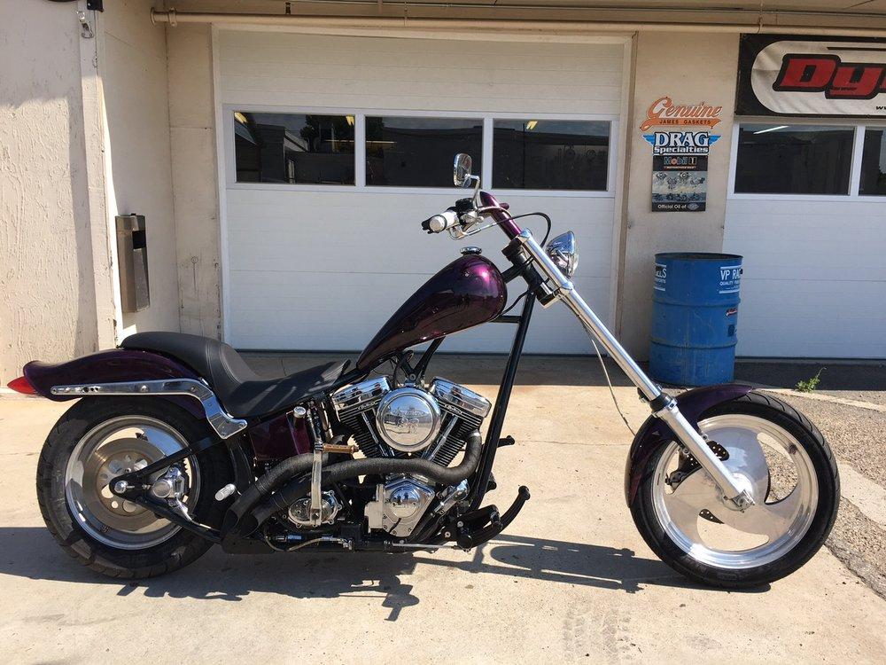 Wade's Custom Chopper