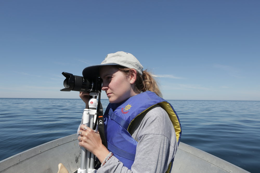 Tricky shooting at Lake Superior, Summer 2017