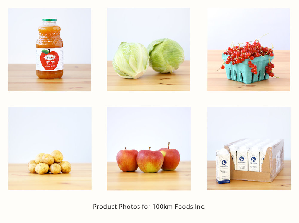 Product Photography 100km foods