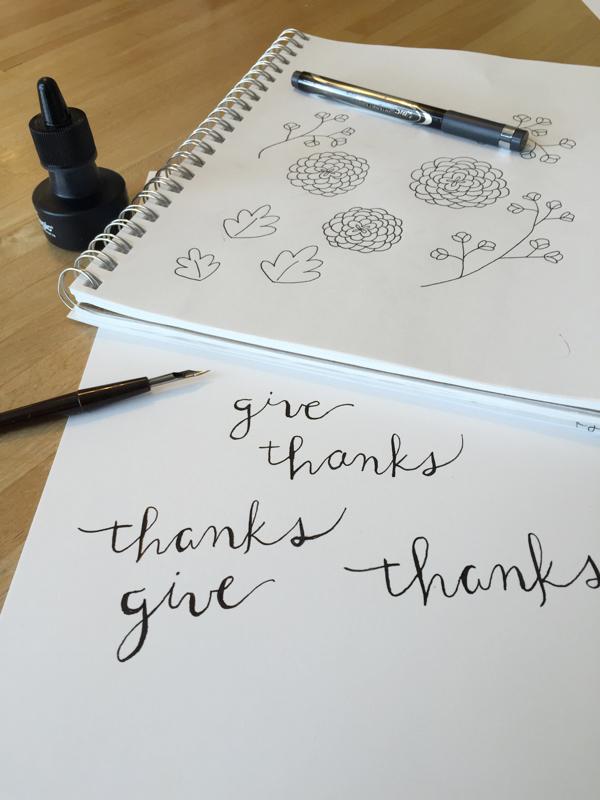 Givethanksink