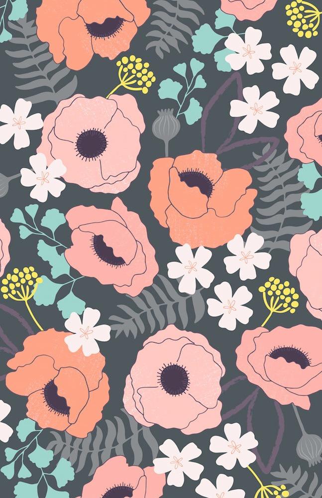 Poppy Garden | katherinelenius.com