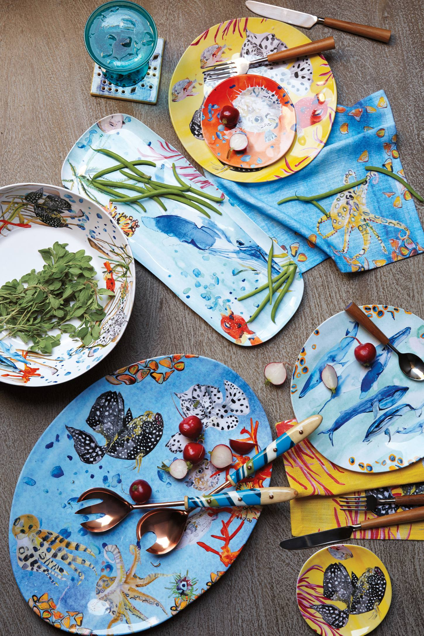 Anthropologie: Under the Sea Serveware