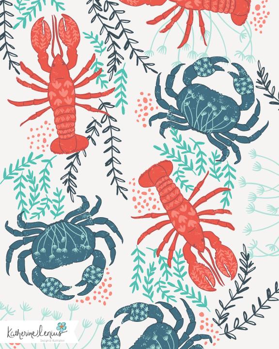 crustaceans-pattern