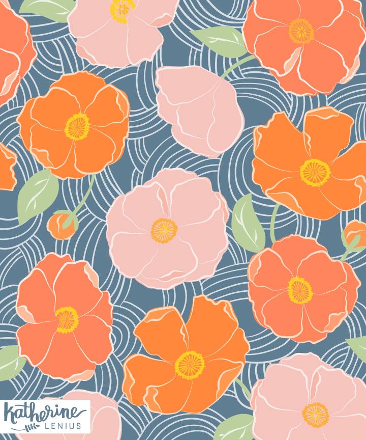 poppy-orange
