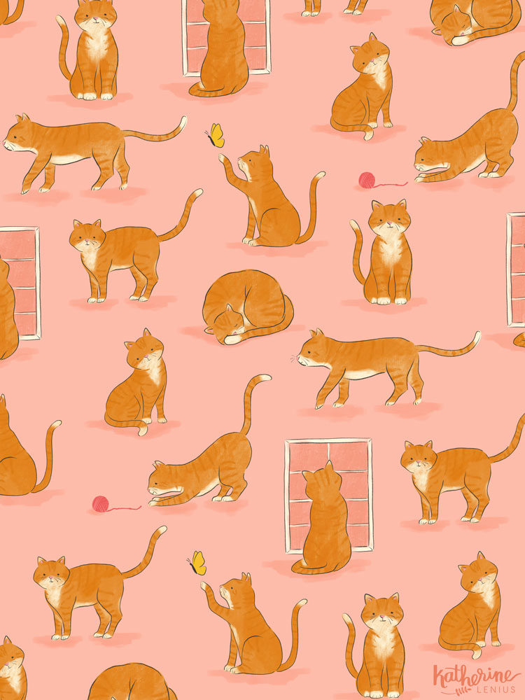 Marmalade Cat | Katherine Lenius